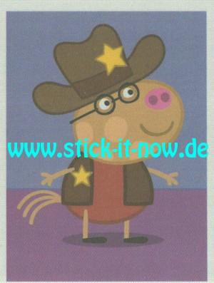 """Peppa Pig """"Auf Weltreise"""" (2019) - Nr. 157 ( Stoffsticker )"""