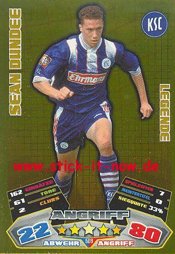 Match Attax 12/13 EXTRA - Sean Dundee - Karlsruher SC - LEGENDE - Nr. 509