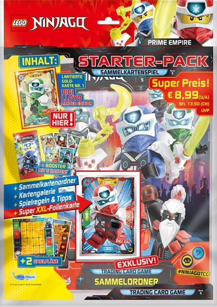 Lego Ninjago Trading Cards - SERIE 5 (2020) - Starter-Set