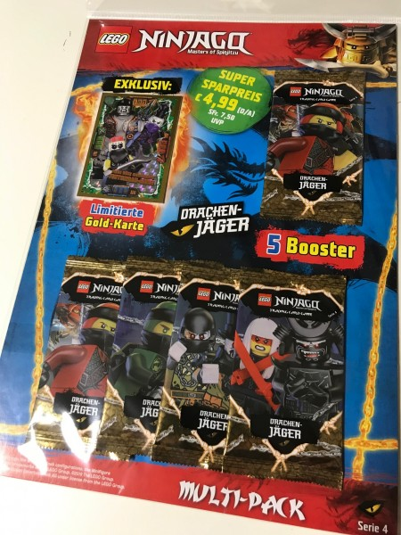 Lego Ninjago Trading Cards - SERIE 4 (2019) - Multipack 3 ( LE19 )