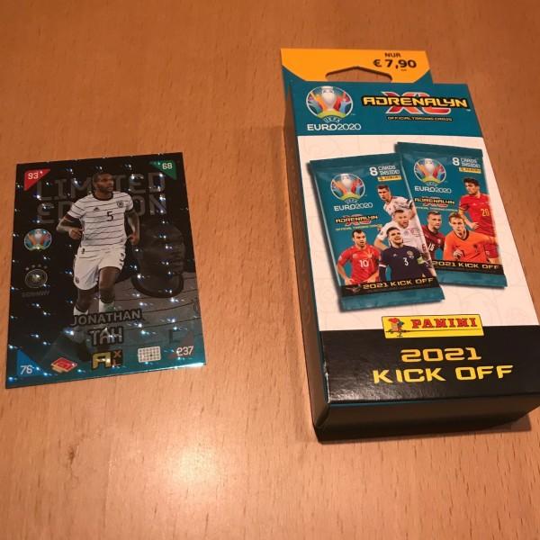 UEFA EURO 2020 Adrenalyn XL Kick Off (2021) - Blister ( Tah )