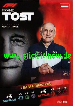 "Turbo Attax ""Formel 1"" (2021) - Nr. 190"