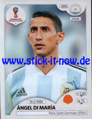 "Panini WM 2018 Russland ""Sticker"" - Nr. 283"
