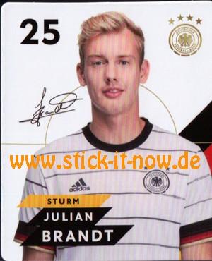 Rewe DFB Sammelkarten EM 2020 - Julian Brandt - Nr. 25