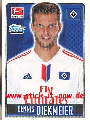 Topps Fußball Bundesliga 14/15 Sticker - Nr. 101