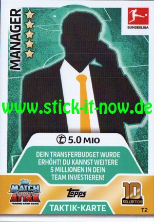 Topps Match Attax Bundesliga 17/18 - Nr. T2