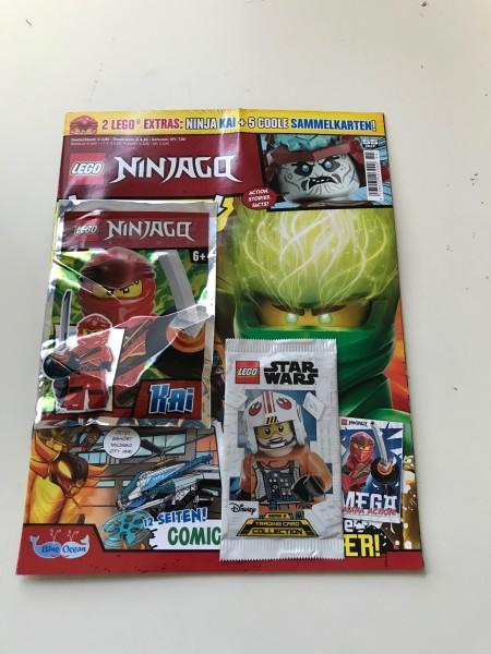 Lego Ninjago Magazin Nr. 55 (mit Lego Figur und Lego Star Wars Booster)