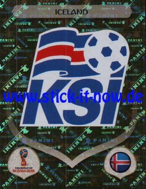 "Panini WM 2018 Russland ""Sticker"" - Nr. 292 (Glitzer)"