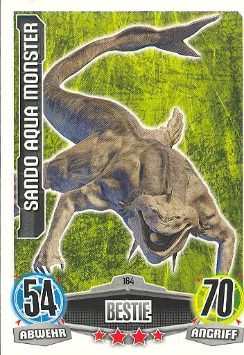 Force Attax - SANDO AQUA MONSTER - Bestie - Kreatur - Movie Collection