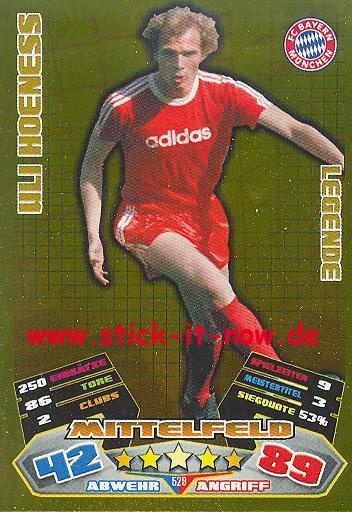 Match Attax 12/13 EXTRA - Uli Hoeness - Bayern München - LEGENDE - Nr. 529