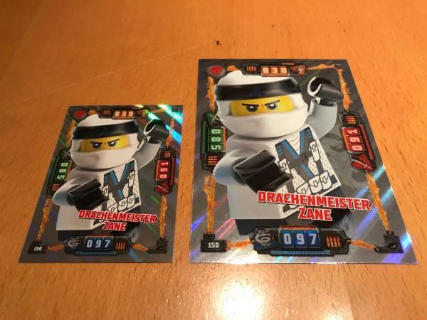 Lego Ninjago Trading Cards - SERIE 4 (2019) - Nr. 150 ( XXL-Karte )