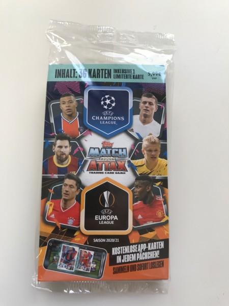 Match Attax Champions League 2020/21 - Blister