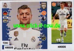 "Panini FIFA 365 ""The golden World of Football"" Sticker (2019) - Nr. 105"