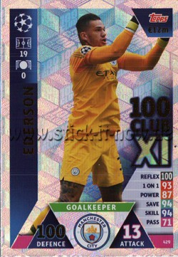 Match Attax Champions League 18/19 - Nr. 429 ( CLUB 100 XL )