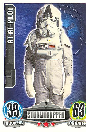Force Attax - AT-AT-PILOT - Sturmtruppen - Imperium - Movie Collection