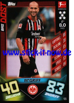 "Topps Match Attax Bundesliga 2019/20 ""Action"" - Nr. 435"