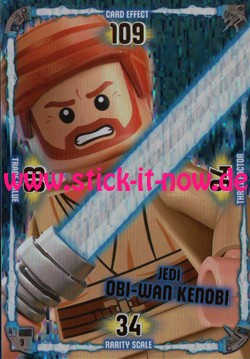 Lego Star Wars Trading Card Collection (2018) - Nr. 9 (Jedi)
