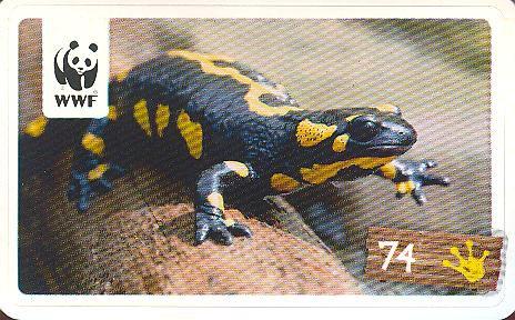 Rewe WWF Tier-Abenteuer 2011 - Nr. 74