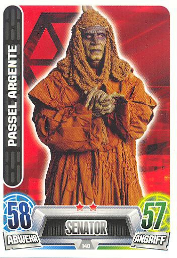 Force Attax Movie Collection - Serie 2 - PASSEL ARGENTE - Nr. 140