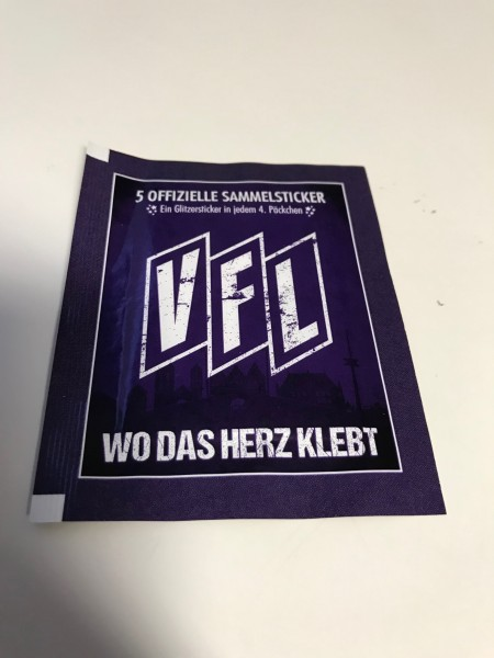 """VfL Osnabrück """"Wo das Herz klebt"""" (2021) - Stickertüte ( 5 Sticker )"""