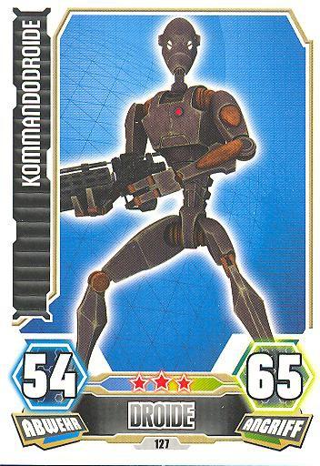 Force Attax - Serie 3 - Kommandodroide - Nr. 127