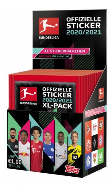 "Topps Fußball Bundesliga 2020/21 ""Sticker"" (2020) - Display"