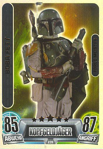 Force Attax Movie Collection - Serie 2 - Force-Meister - Boba Fett - Nr. 239