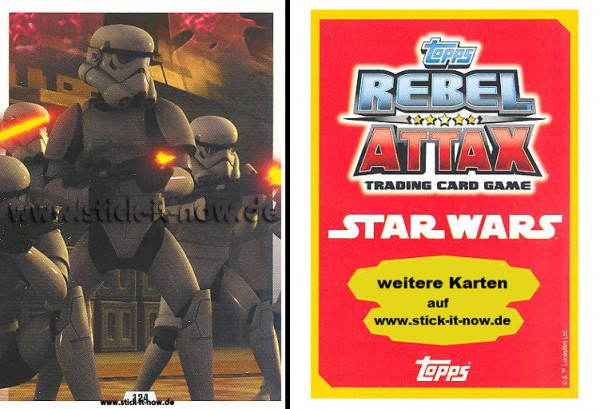 Rebel Attax - Serie 1 (2015) - STRIKE-FORCE - DAS IMPERIUM 2 - Nr. 124