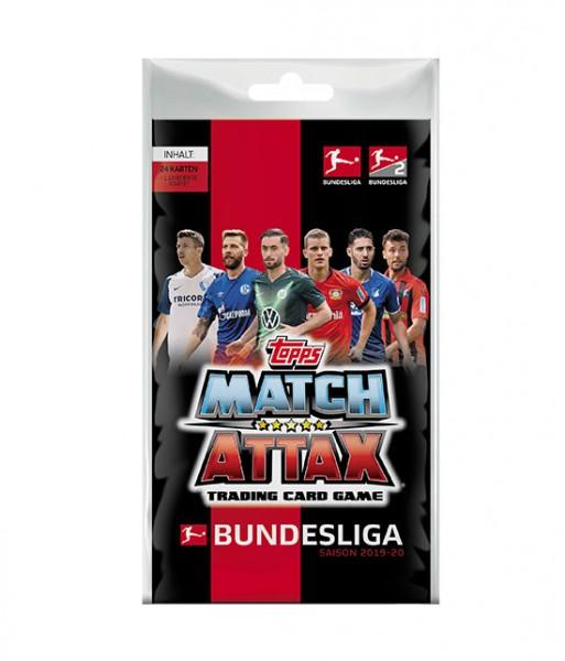 Topps Match Attax Bundesliga 2019/20 - Blister ( 24 Karten + 1 von 3 limitierten Karte )
