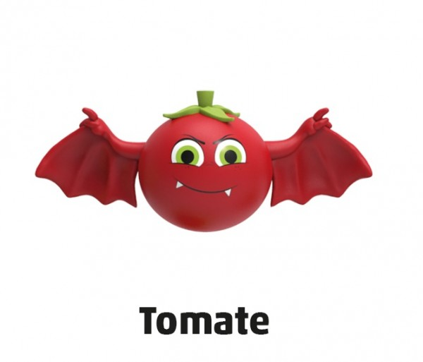 "Penny Monster-Sammelfiguren - Nr. 12 ""Tomate"""