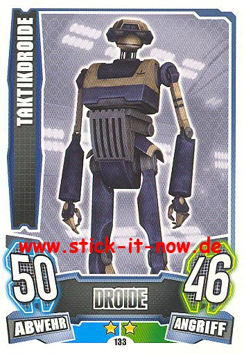 Force Attax - Star Wars - Clone Wars - Serie 4 - TAKTIKDROIDE - Nr. 133