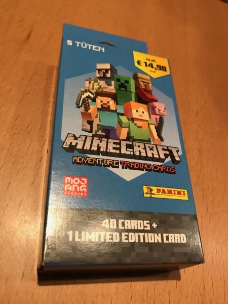 Minecraft Trading Cards (2021) - Blister ( 40 Karten + 1 von 6 LE Karten )