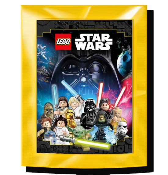 """Lego Star Wars """"Sticker-Serie"""" (2020) - Stickertüte (5 Sticker)"""