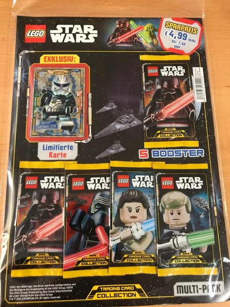 Lego Star Wars Trading Card Collection (2018) - Multipack 4 ( LE10 )