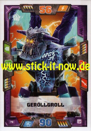 Lego Nexo Knights Trading Cards - Serie 2 (2017) - Nr. 78