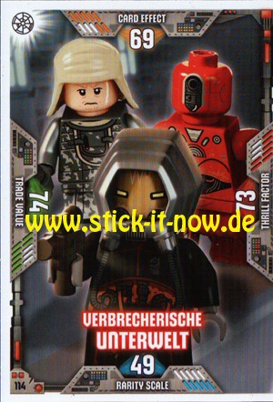 Lego Star Wars Trading Card Collection 2 (2019) - Nr. 114