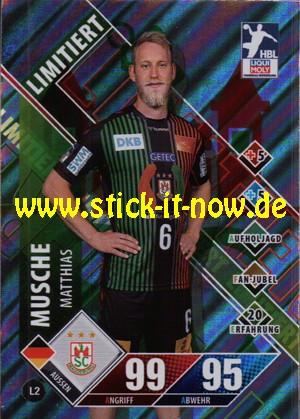 """LIQUI MOLY Handball Bundesliga """"Karte"""" 20/21 - Nr. L2 (Limitiert)"""