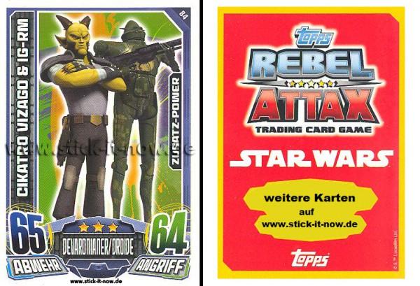 Rebel Attax - Serie 1 (2015) - CIKATRO VIZAGO & IG-RM - Nr. 84