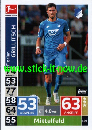 "Topps Match Attax Bundesliga 18/19 ""Action"" - Nr. 395"