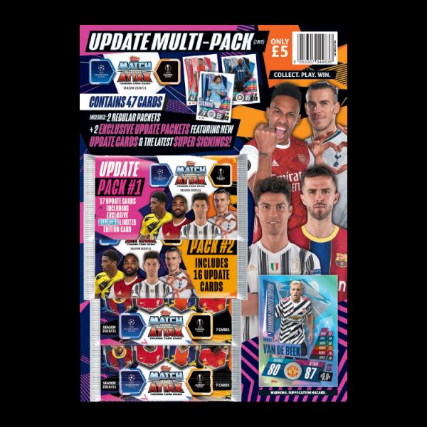 "Match Attax Champions League 2020/21 ""Update"" - Multipack 1"