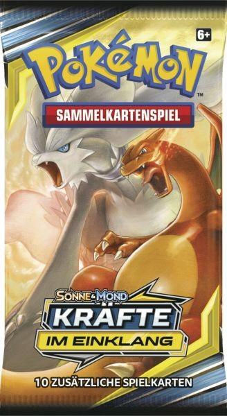 """Pokemon - Sonne & Mond """"Kräfte im Einklang"""" - 1 Booster"""