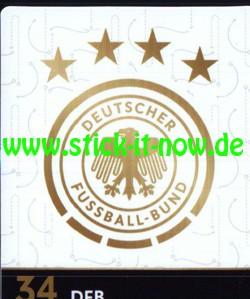 Rewe WM 2018 - Sammelkarten - DFB Logo - Nr. 34