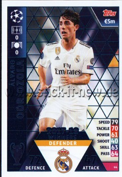Match Attax Champions League 18/19 - Nr. 44 ( WINNERS 17/18 )