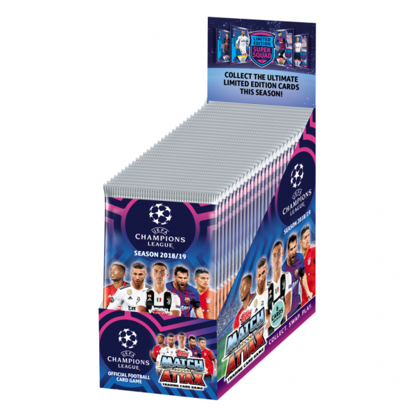 Match Attax Champions League 18/19 - Display (30 Booster)