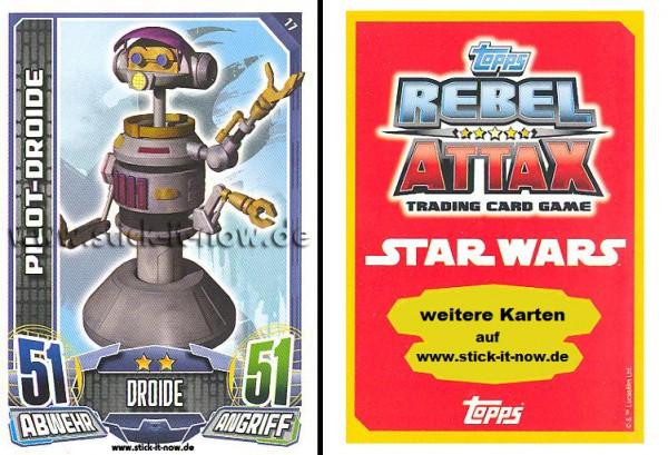 Rebel Attax - Serie 1 (2015) - PILOT-DROIDE - Nr. 17