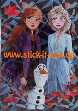 """Disney Frozen """"Die Eiskönigin 2"""" (2019) - """"Karte"""" Nr. S18 (Glitzer)"""