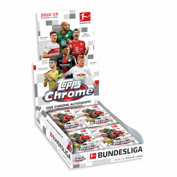 Bundesliga Chrome 18/19 - Display ( OVP / 18 Booster )
