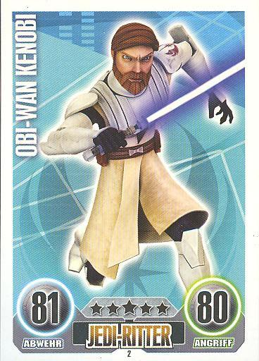 Force Attax - OBI-WAN KENOBI - Jedi-Ritter - Die Republik - SERIE 1 (2010)