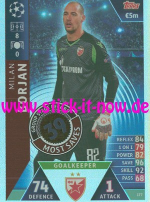 """Match Attax CL 18/19 """"Road to Madrid"""" - Nr. 128"""