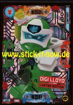 Lego Ninjago Trading Cards - SERIE 5 (2020) - Nr. LE1 ( Limited )